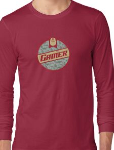 Gamer (vintage) Long Sleeve T-Shirt