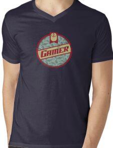 Gamer (vintage) Mens V-Neck T-Shirt