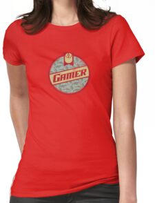 Gamer (vintage) Womens Fitted T-Shirt