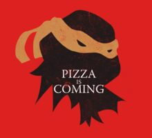 Pizza is Coming by JohnLucke