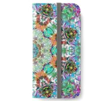 Colorful Concentric Abstract iPhone Wallet/Case/Skin