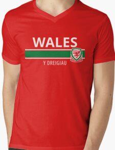 Wales National Football Team Mens V-Neck T-Shirt