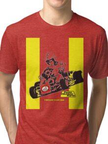 QVHK Swiss Hutless Tri-blend T-Shirt