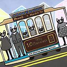 San Francisco Trolley Cats by Ryan Conners