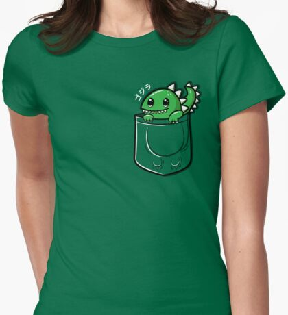 Monster in My Pocket Womens Fitted T-Shirt