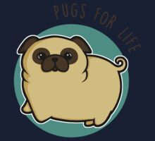 Pugs for life - fawn One Piece - Long Sleeve
