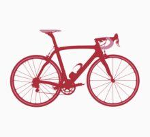 Bike Pop Art (Red & Pink) Kids Clothes