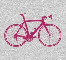 Bike Pop Art (Pink & White) One Piece - Short Sleeve