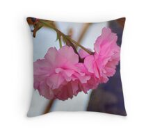 Bloom where you are.. Joel Osteen Throw Pillow
