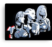 We face this fight together Canvas Print