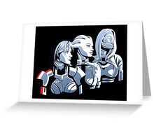 We face this fight together Greeting Card