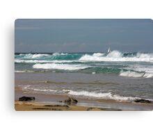 Raw Energy - Newcastle Beach Canvas Print