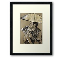 Every Fibre of Him Longed For Her Framed Print