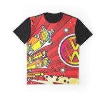 VW Fireworks Graphic T-Shirt