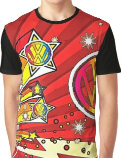 VW Fireworks Graphic T-Shirt