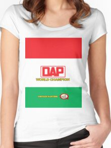 QVHK DAP Women's Fitted Scoop T-Shirt