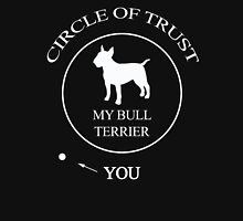 Funny Bull Terrier Dog Unisex T-Shirt