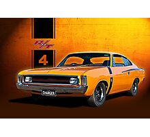VH Valiant Charger Photographic Print