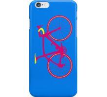 Bike Pop Art (Pink & Yellow) iPhone Case/Skin