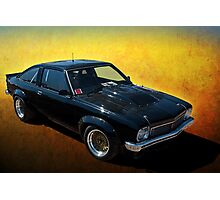 Black Torana A9X Photographic Print