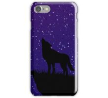 playful space wolves iPhone Case/Skin