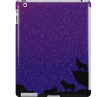 playful space wolves iPad Case/Skin