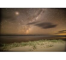 Double Island Point Milky Way Photographic Print