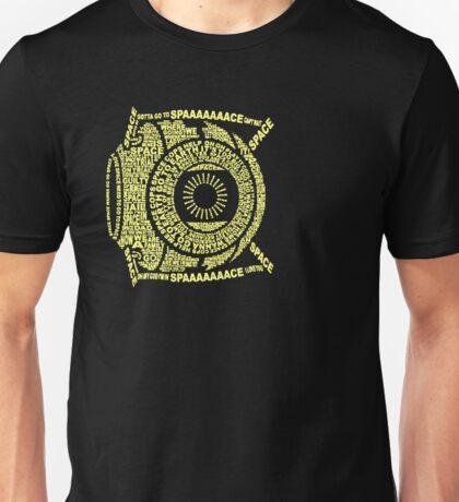 Space core: quote core Unisex T-Shirt