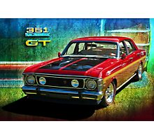 XW Falcon 351GT Photographic Print