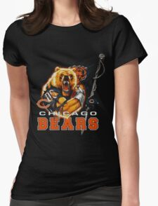 chicago bears Womens Fitted T-Shirt