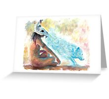 Animal Spirit Greeting Card