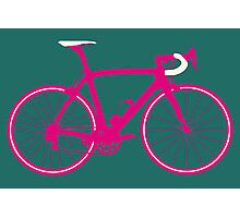 Bike Pop Art (Pink & White) Photographic Print