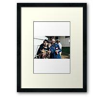 Post Malone X Pouya Framed Print