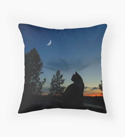 Warrior Cats - Silhouette Throw Pillow