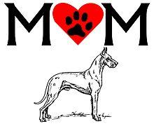 Great Dane Mom by kwg2200