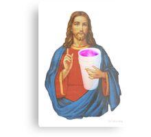 jesus leanin like a THUG Metal Print