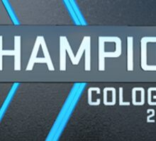 Cologne 2015 Champion Trophy Sticker