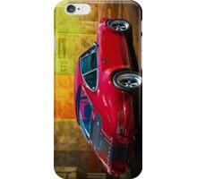 Red Porsche 911 Rear iPhone Case/Skin
