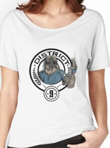Hunger Games District 9 Mashup Women's Relaxed Fit T-Shirt