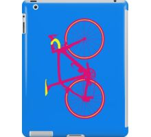 Bike Pop Art (Pink & Yellow) iPad Case/Skin