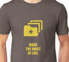 Make the most of life. - Business Quote Unisex T-Shirt