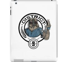 Hunger Games District 9 Mashup iPad Case/Skin