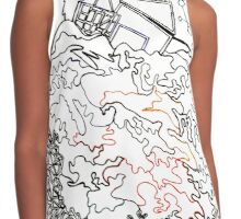 City On The Hill Contrast Tank
