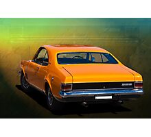 Orange HG Monaro GTS 350 Photographic Print