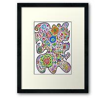 Master Doodle Framed Print
