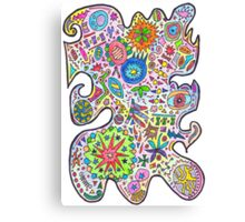 Master Doodle Canvas Print