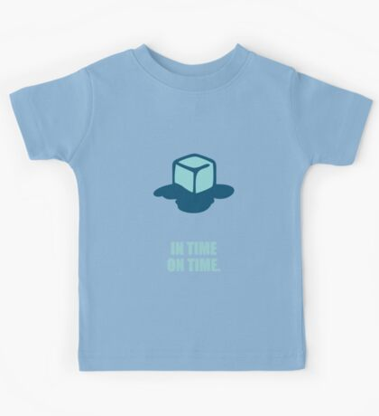 In time on time - Business Quote Kids Tee