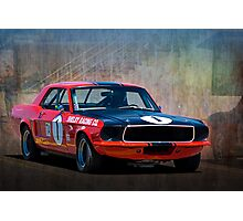 Shelby Racing Co Mustang Photographic Print