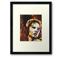 Justin, featured in Altered by Imagination Framed Print