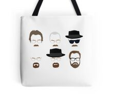 Walter White / Heisenberg (The Many Faces) - Breaking Bad Tote Bag